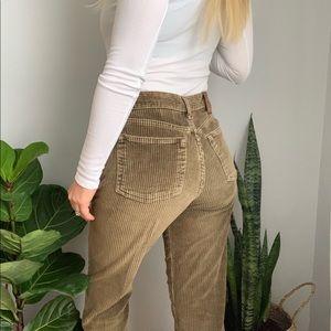 CK vintage 90's cord jeans sz 5 fit 27